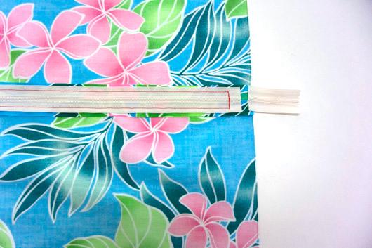 ハワイアンキルトキットのクッション&タペストリーの作り方9