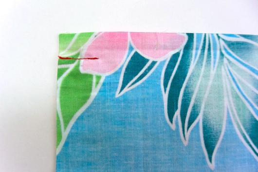 ハワイアンキルトキットのクッション&タペストリーの作り方4-2