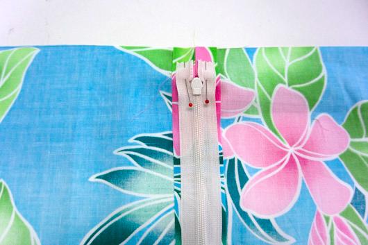 ハワイアンキルトキットのクッション&タペストリーの作り方6-1