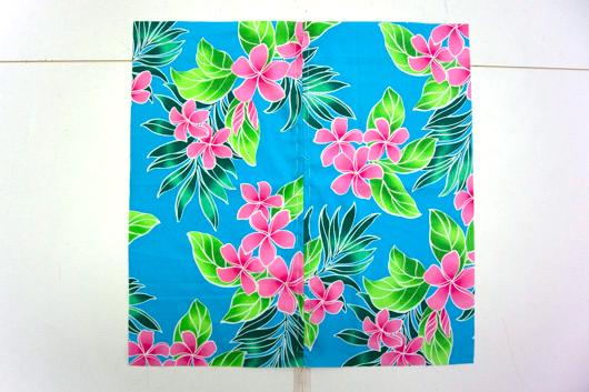 ハワイアンキルトキットのクッション&タペストリーの作り方7-2