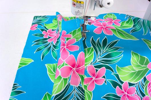ハワイアンキルトキットのクッション&タペストリーの作り方8-1