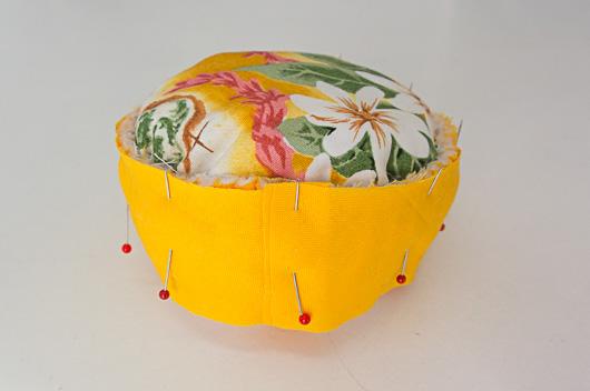 ハワイアンキルトピンクッションの作り方01